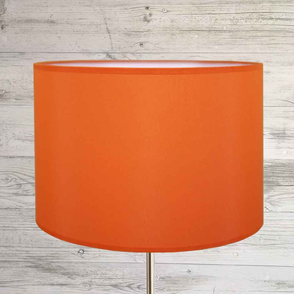 Drum Shade Burnt Orange